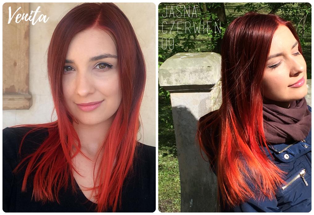 henna color czerwień