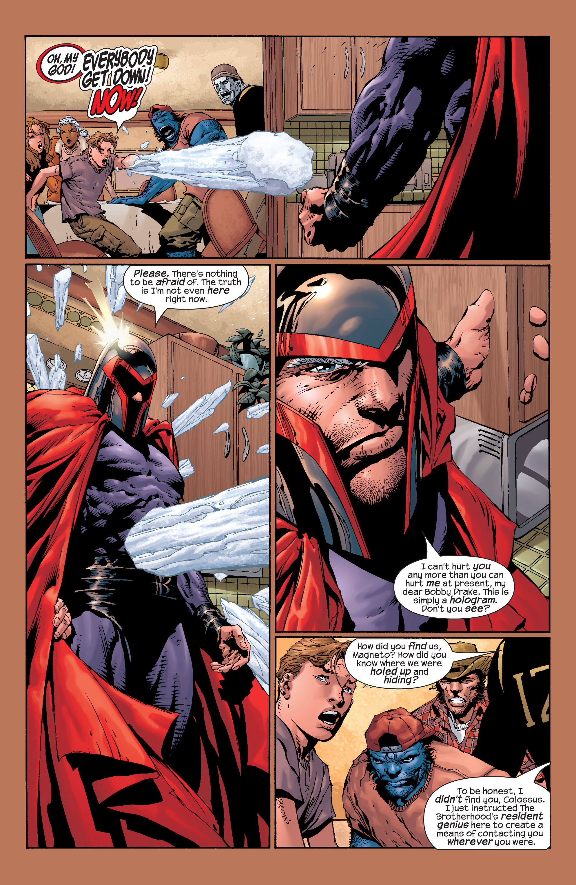Read online Ultimate X-Men comic -  Issue #28 - 20
