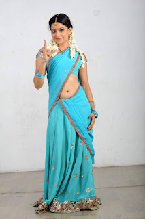 Actress Anu Upadhyaya Pictureshoot Gallery in Traditional Half Saree  0005.jpg