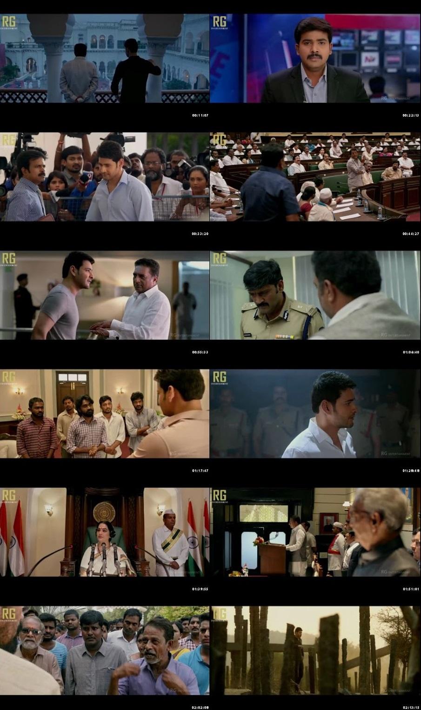 Bharat Ane Nenu 2018 Full Movie Download