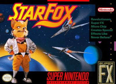 StarFox SNES Game