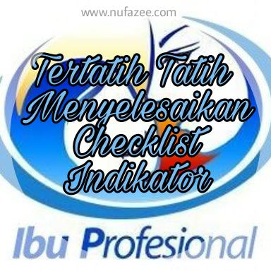 Tertatih Tatih Menyusun Checklist Indikator Ibu Profesional