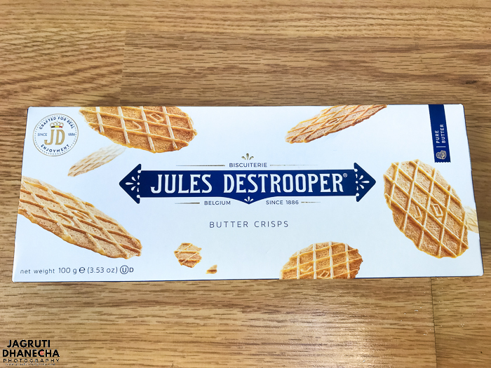Perfect, rich and crunchy Jules destrooper butter crispies are so delicious.