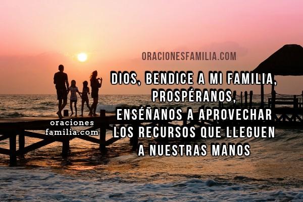 Oración por provisión, prosperidad, ayuda de Dios, dame lo que necesito, ayúdame Señor, da bendiciones a mi familia, oraciones por Mery Bracho con imágenes cristianas.