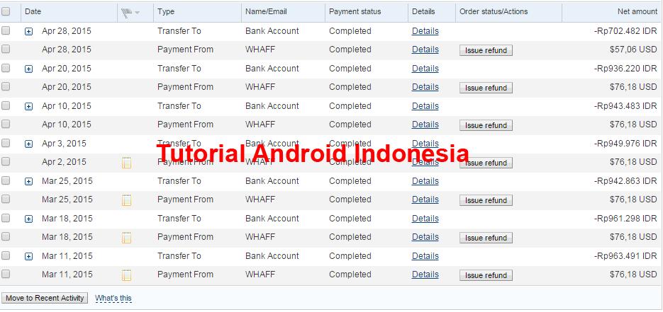 Aplikasi Pencari Uang Di Android Terbaik Dan Tercepat 2015