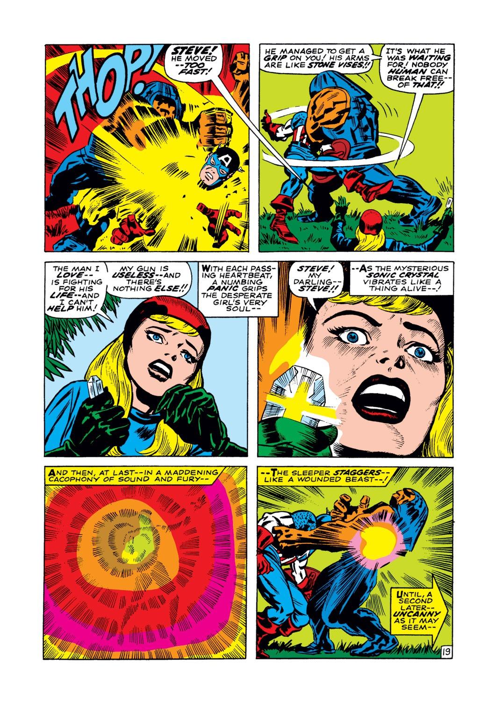 Read online Captain America (1968) comic -  Issue #102 - 20