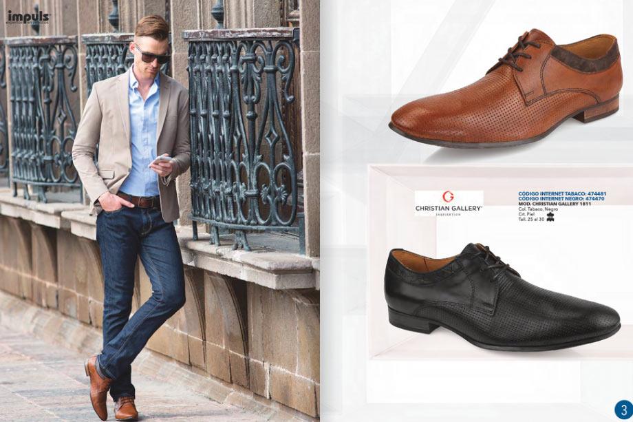 Impuls zapatos caballeros oto o invierno 2018 catalogos for Zapatos por catalogo