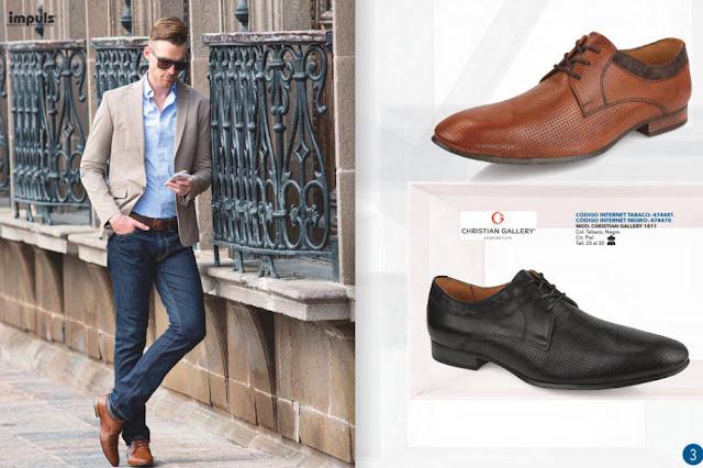 Impuls zapatos caballeros otoño-invierno 2018