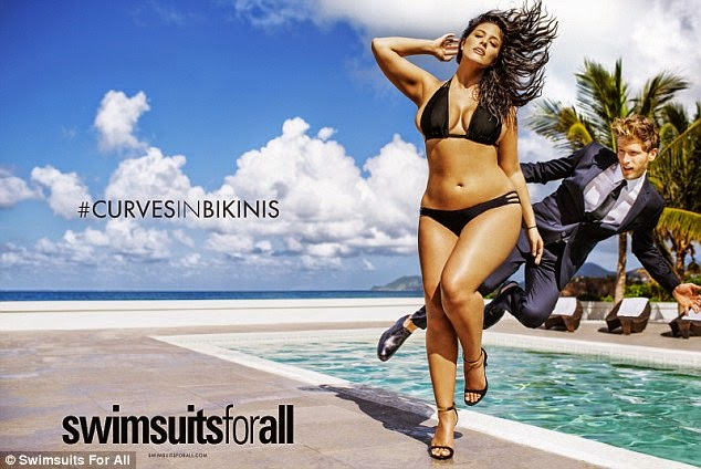 Sexy Bikini Model Ashley Graham Latest Bikini Photoshoot #Ashley #Graham