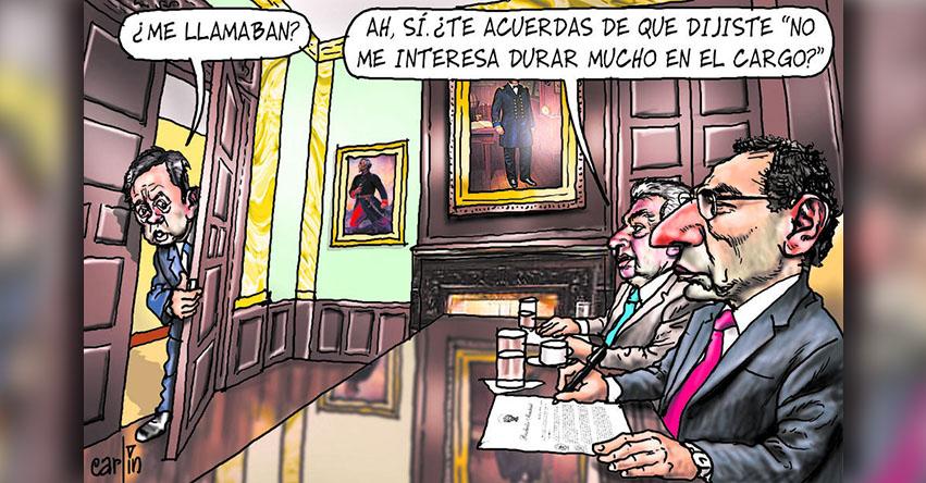 Carlincaturas Miércoles 6 Junio 2018 - La República