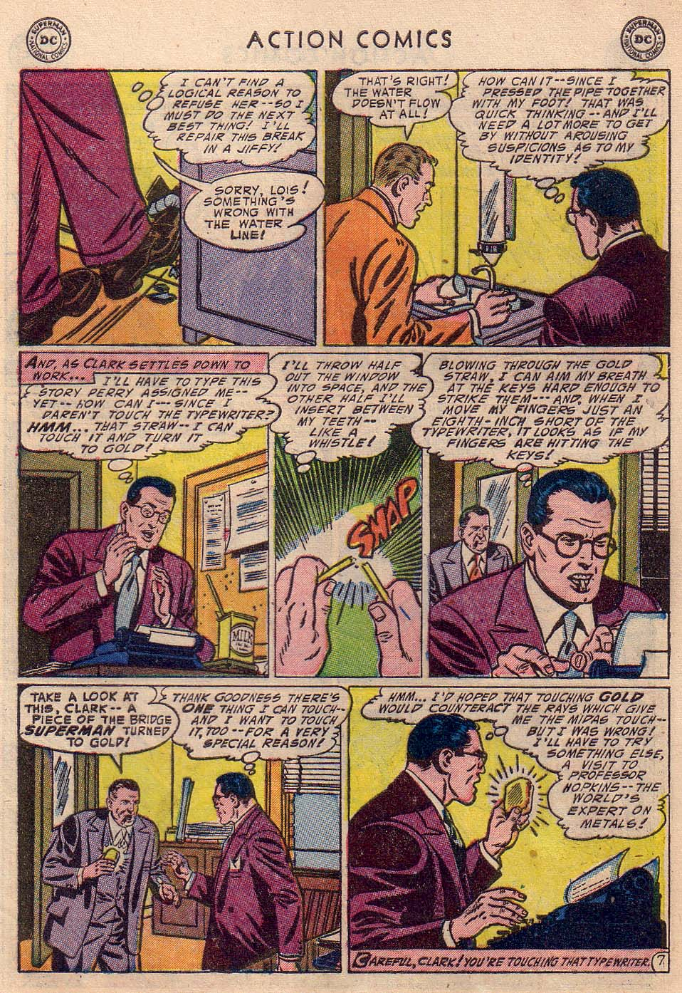 Action Comics (1938) 193 Page 8