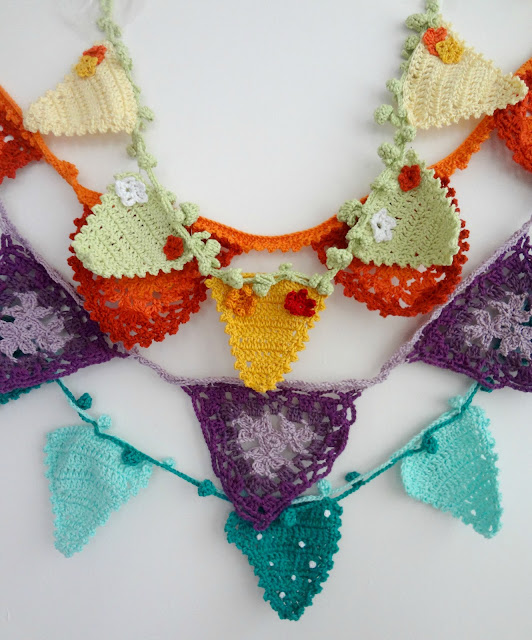 Crochet Bunting Galore