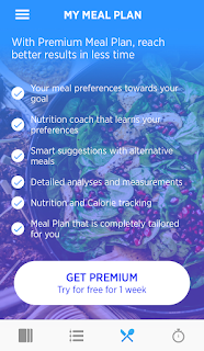 Meal plan page