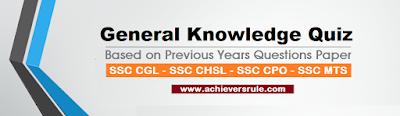 SSC CGL - SSC CHSL - SSC CPO - SSC MTS - RAILWAY