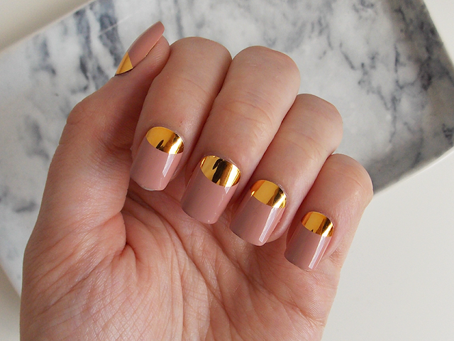 metallic nails primark