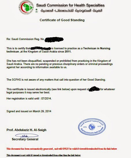 Anyone Here Who Has Secured A Certificate Of Good Standing