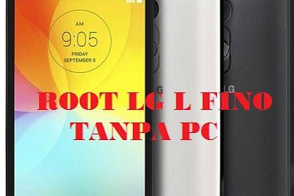 Cara Mudah Root LG L Fino Tanpa PC