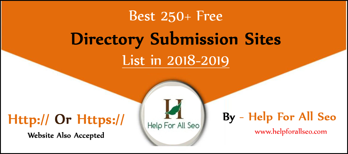 250+ Free Directory Submission Sites List in 2018-2019