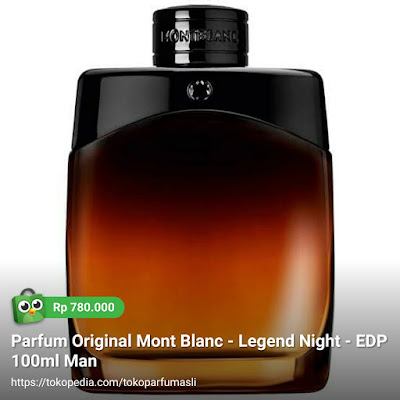 mont blanc legend night edp 100ml man