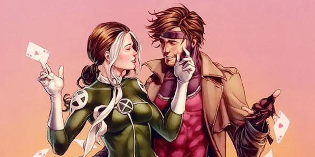 Vampira Gambit X-Men
