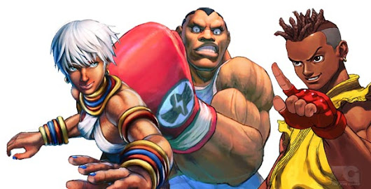 Black characters in the Street Fighter series |TheZonegamer