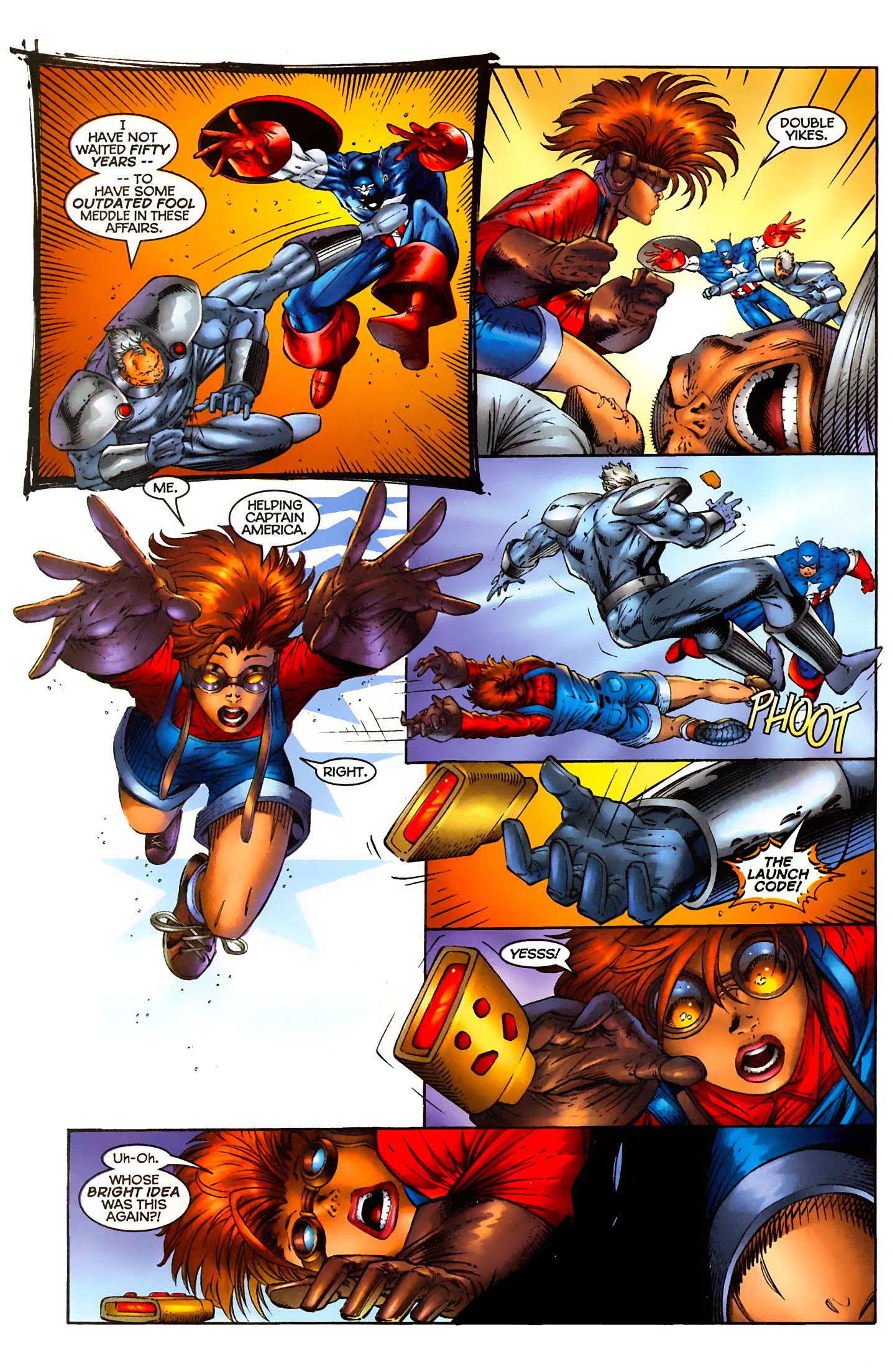 Captain America (1996) Issue #5 #5 - English 19