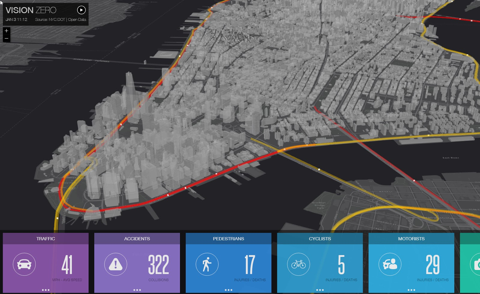NYC Real-Time Traffic Map