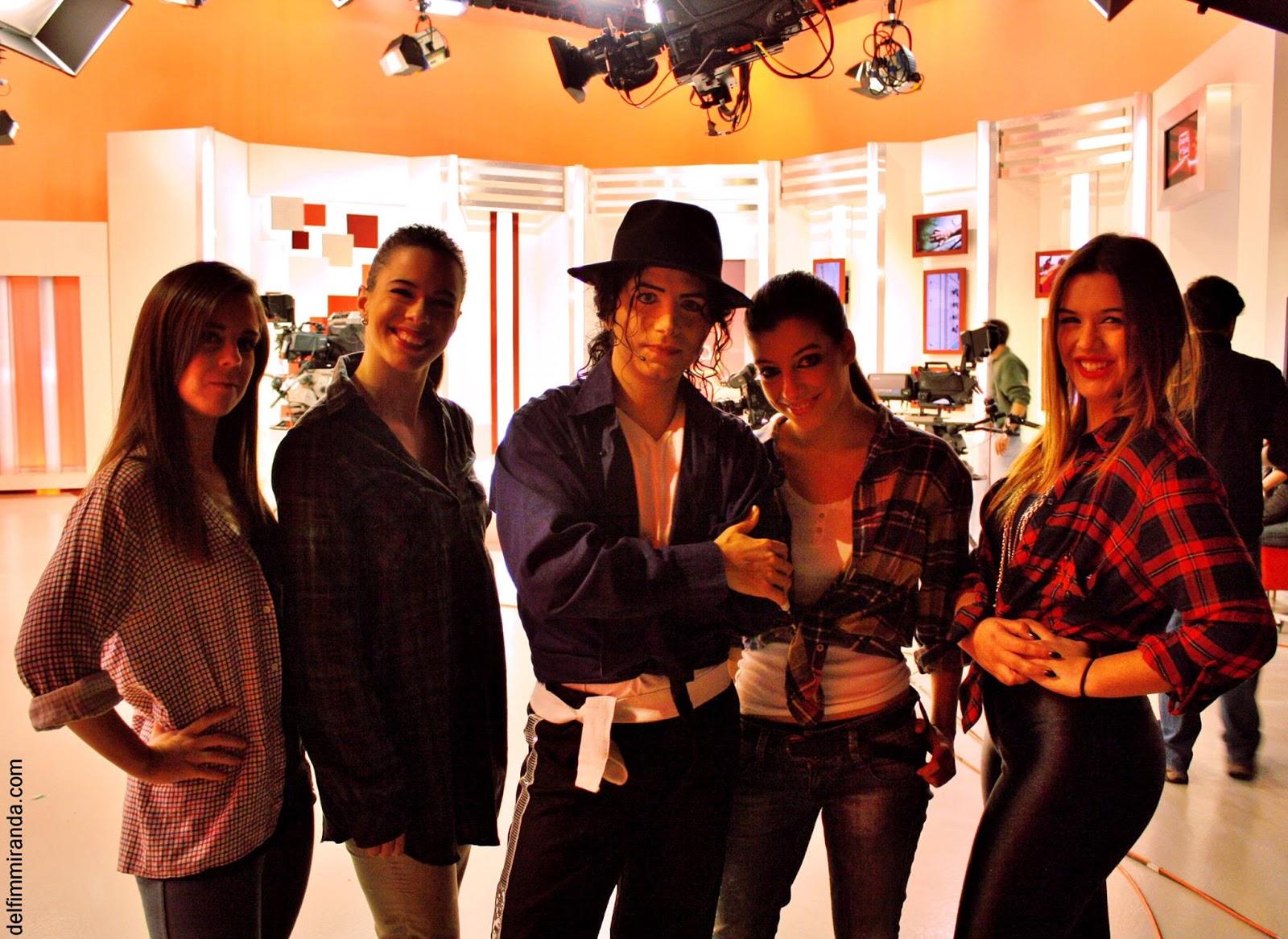 Delfim Miranda - Michael Jackson Tribute - Picture with the dance crew - TVI - Queluz de Baixo