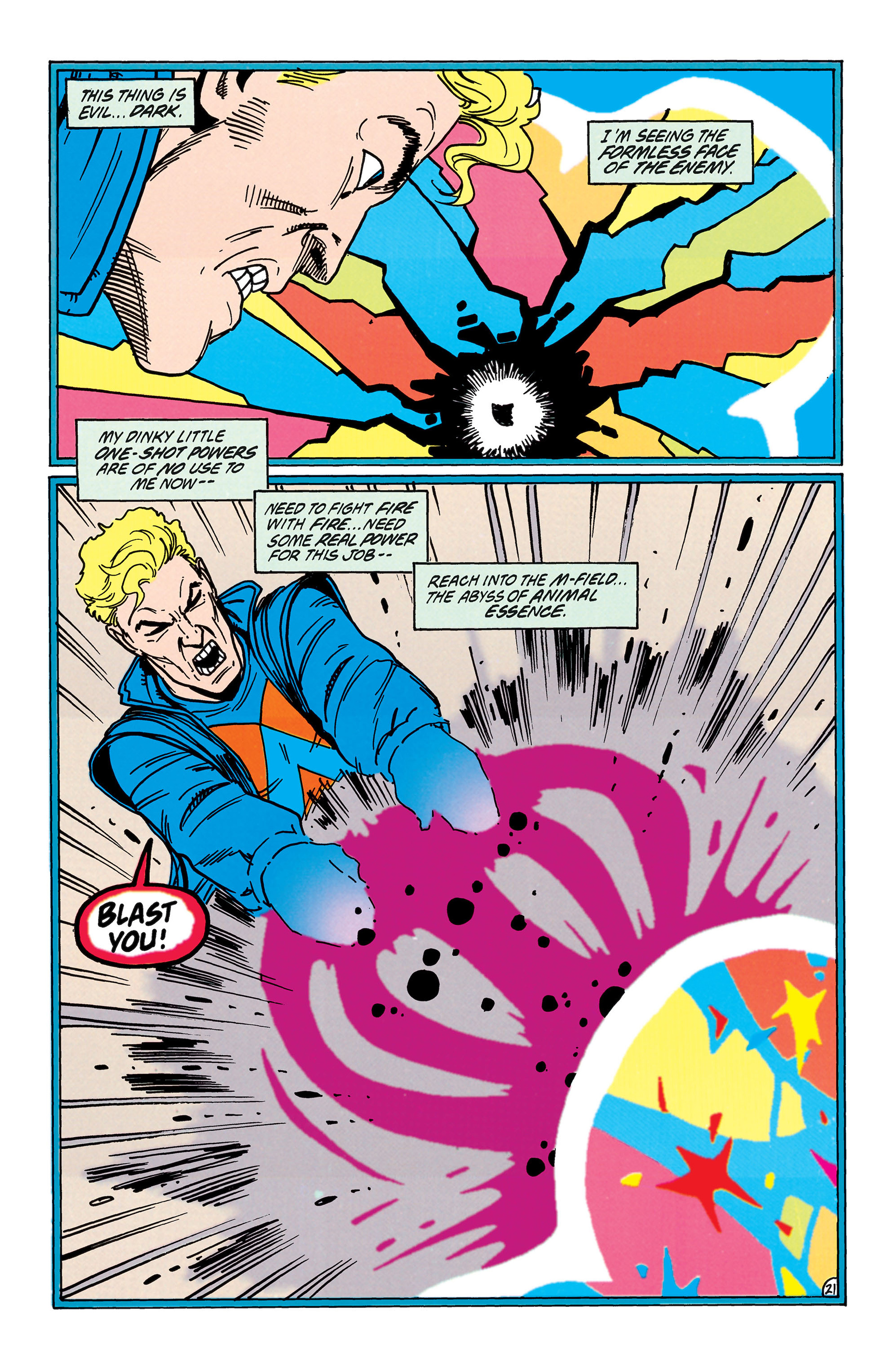 Read online Animal Man (1988) comic -  Issue #38 - 22