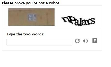 Senangnya kalau tak ada 'Word Verification'