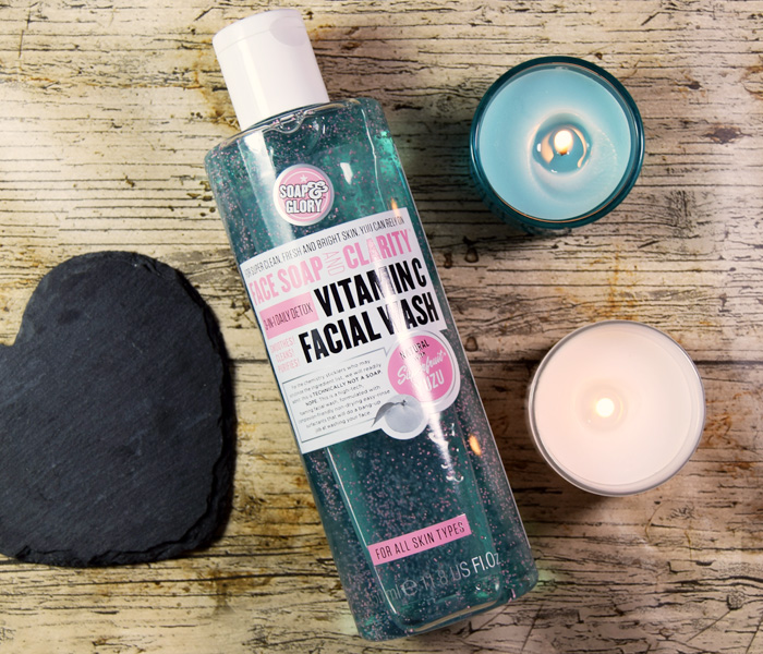Soap & Glory Face Soap and Clarity 3-in-1-Daily-Detox Vitamin C Facial Wash