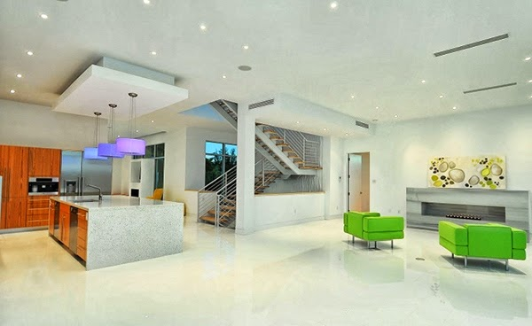 Ide Desain Rumah Modern Dua Lantai
