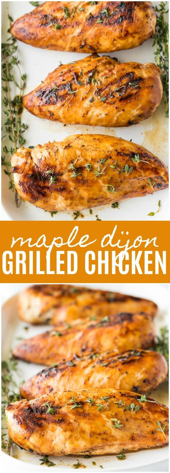 Maple Dijon Grilled Chicken
