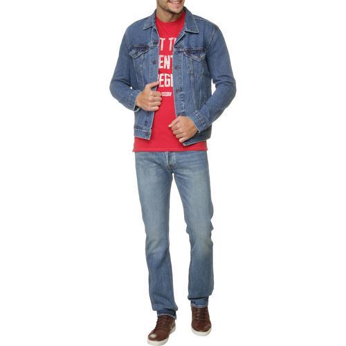 Jaqueta Jeans Levi's The Trucke - Azul