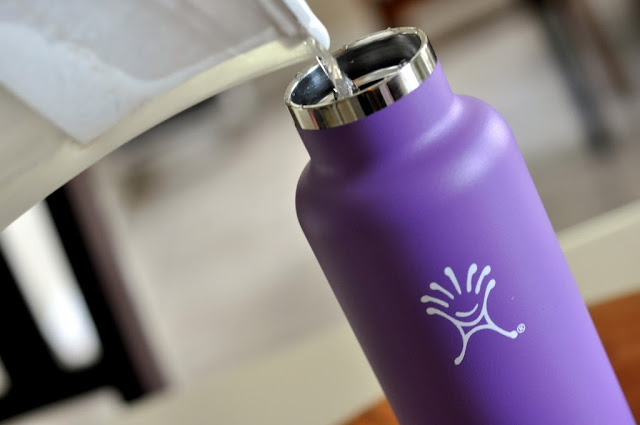 21-oz. Hydro Flask Stainless Steel Water Bottle in Acai Purple | Taste As You Go