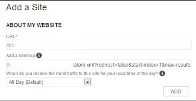 Submit Sitemap ke Bing & Yahoo