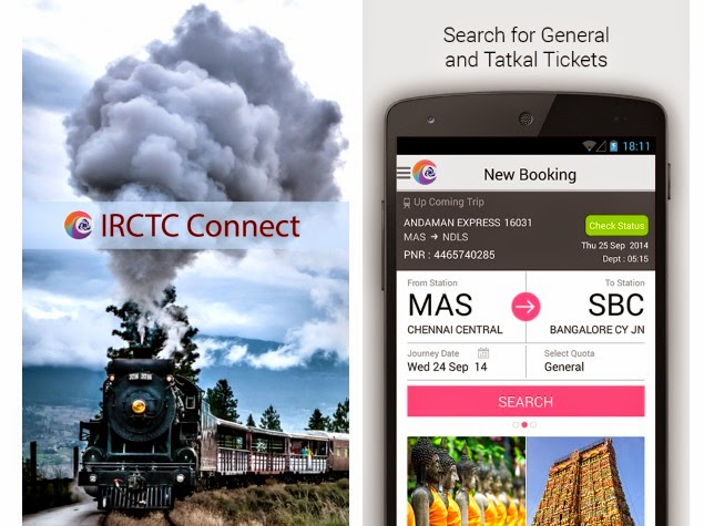 irctc connect android app download