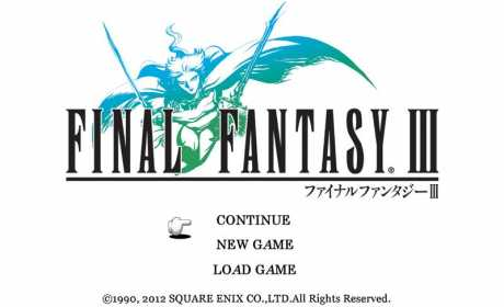 FINAL FANTASY III Apk + Data for android