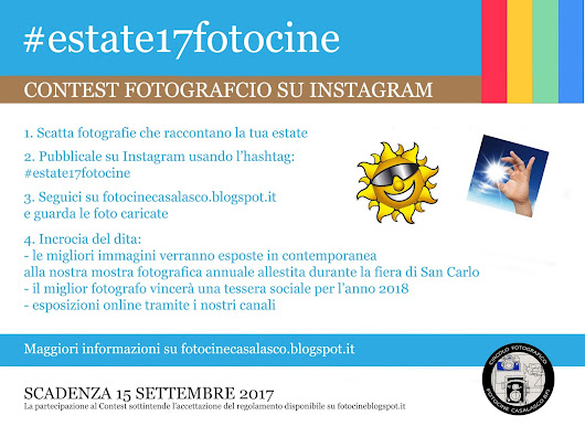 Instacontest: La mia estate 2017