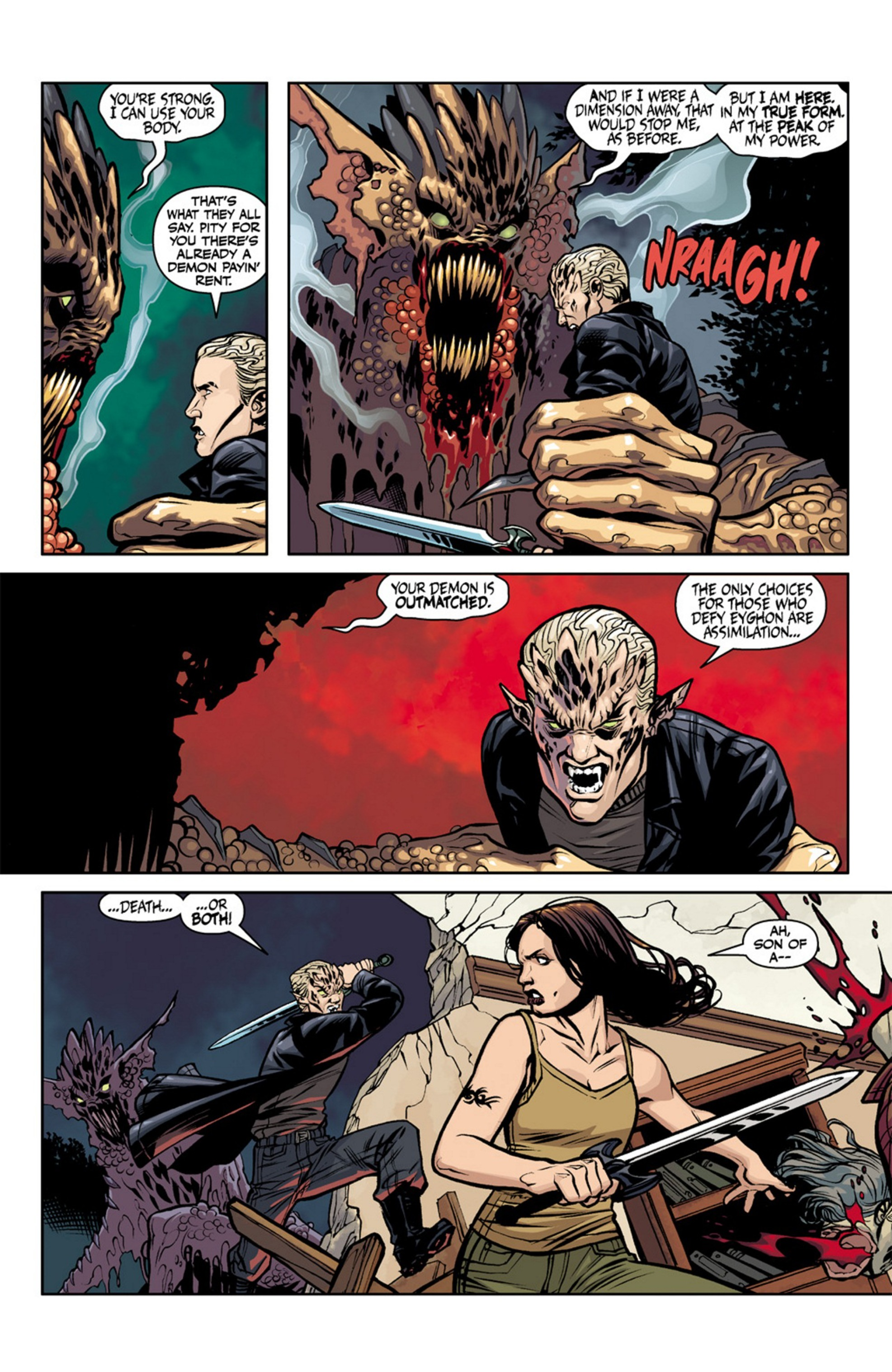 Read online Angel and Faith comic -  Issue #19 - 15