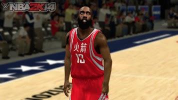 NBA 2k14 Ultimate Custom Roster Update v6.3 : February 25th, 2016 - Rockets Chinese Jersey - HoopsVilla