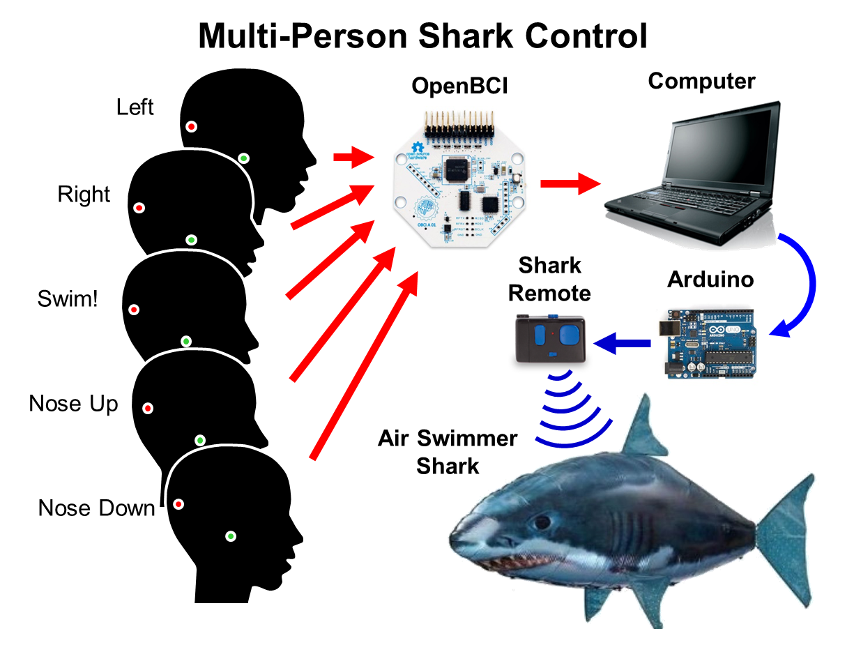 Eeg Hacker Brain Controlled Shark Attack