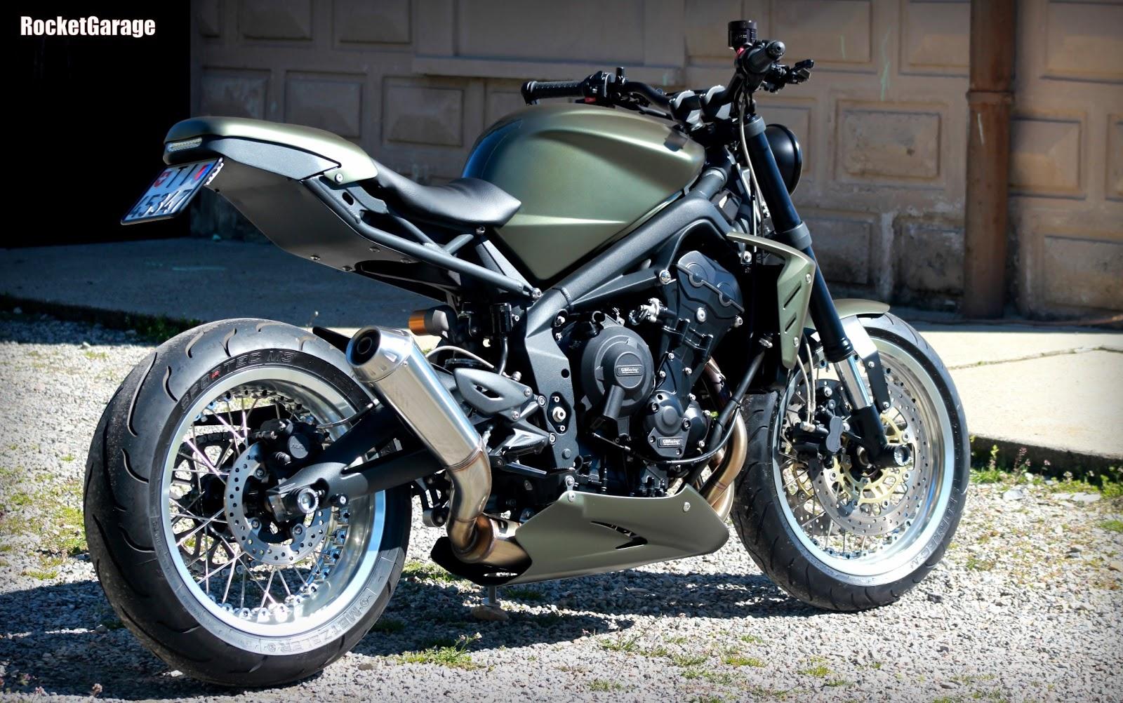 moto triumph hellas triumph street triple 675 custom by ramarro. Black Bedroom Furniture Sets. Home Design Ideas