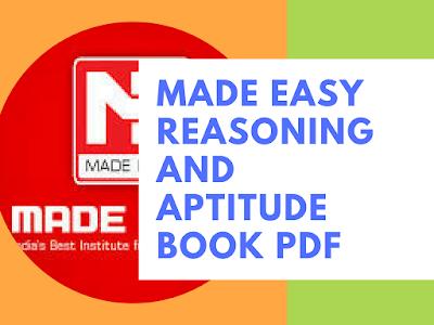 made easy reasoning and aptitude book pdf book world