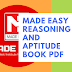 Made Easy Reasoning and Aptitude Book Pdf