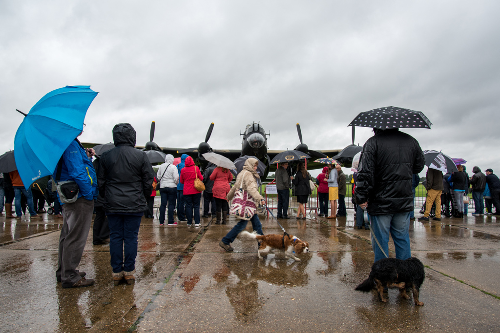 Bank holiday open day at aviation museum - copyright Chris Goddard