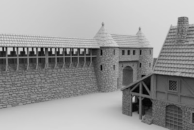 Townwall and gate picture 3