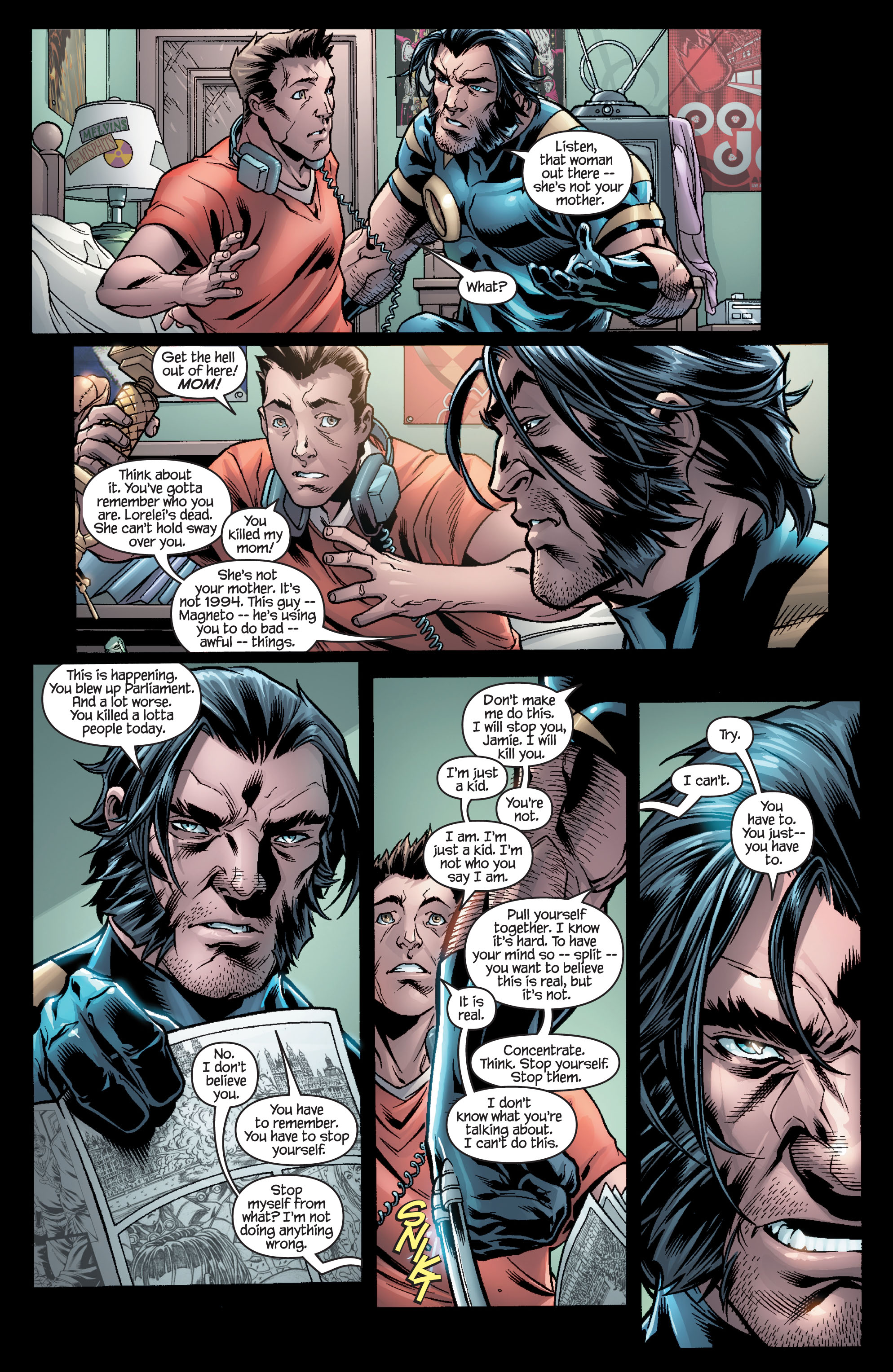 Read online Ultimate X-Men comic -  Issue #100 - 23