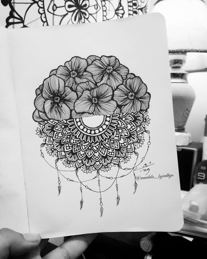 11-Flowers-Semi-Circle-Bycinthya-Mandala-Designs-www-designstack-co