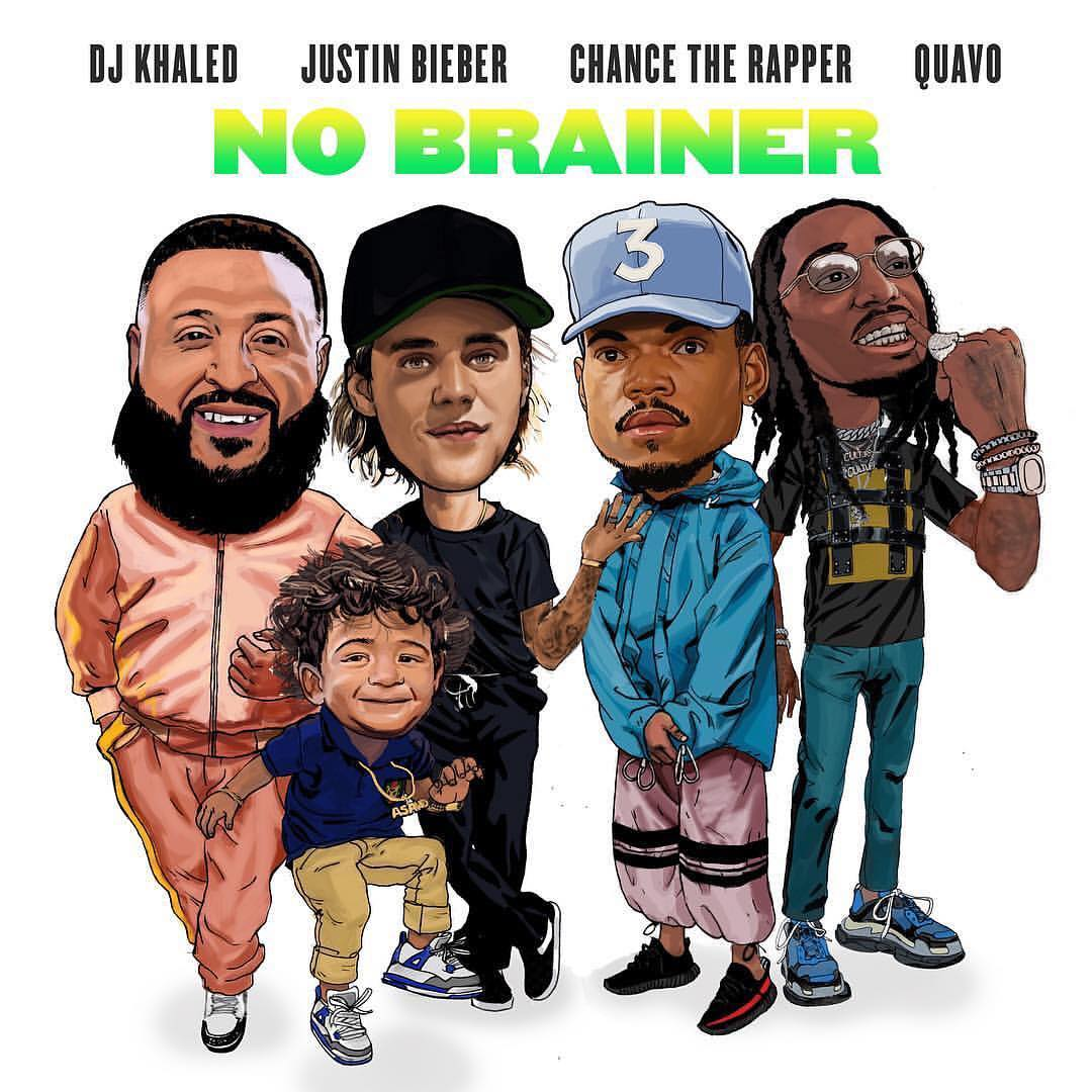 DJ Khaled  -  No Brainer Ft. Justin Bieber, Chance The Rapper & Quavo